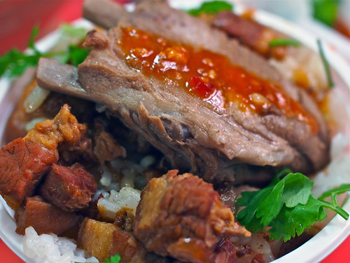 Braised Spareribs Over Minced Pork Rice | by Chun's Pictures