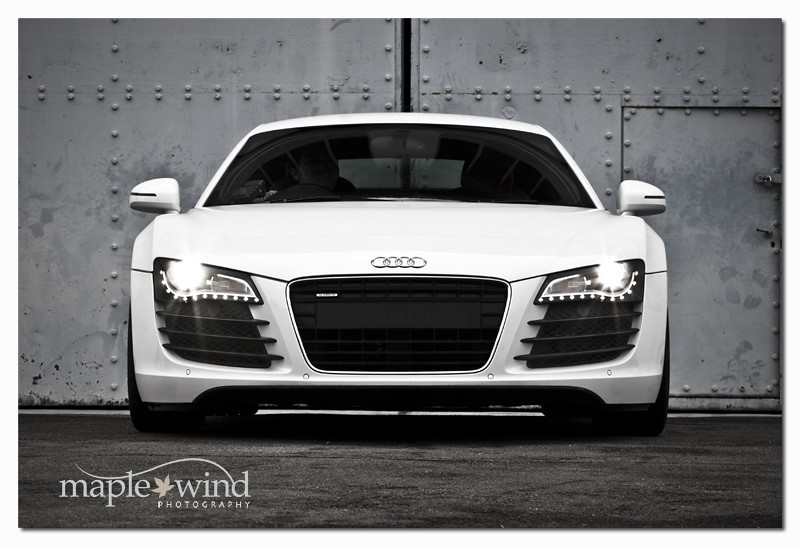 Audi R8 Front View Shaurt Flickr