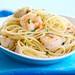 spaghetti with shrimp and scallops