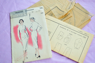 07.06.11 | 50s dress tutorial 01 | by elegant musings
