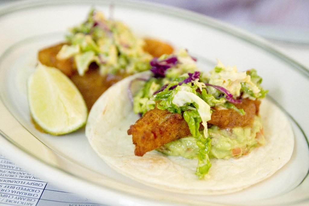 Fish tacos coppelia crispy flounder chipotle cole slaw for Flounder fish tacos