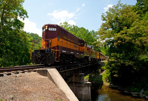 Great Smoky Mountains Railroad - Deep Creek Bridge, North Carolina | by Timothy Wildey