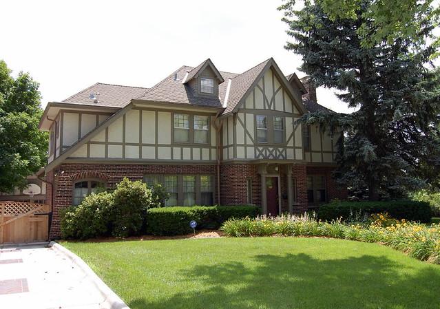 Tudor style home in dundee omaha nebraska flickr for Tudor style house for sale