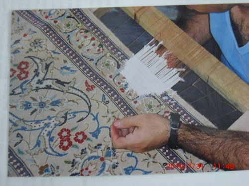 Servicio integral de lavado mantenimiento y restauracion for Restauracion alfombras persas
