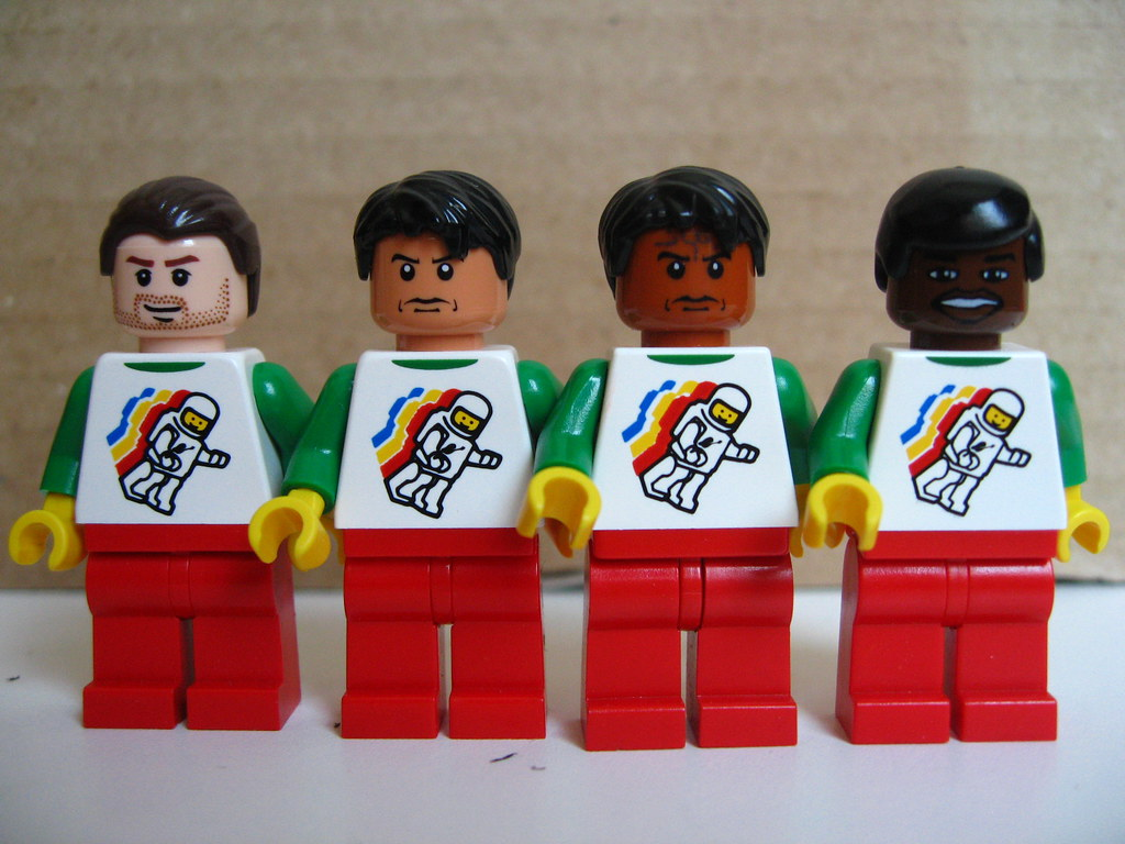 Skin Tones Of Lego Minifig Heads Comparison Of The