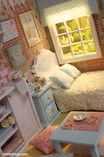 diorama clear sky bedroom around 16 cm size dolls flickr. Black Bedroom Furniture Sets. Home Design Ideas