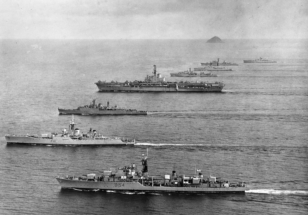 Seato Exercise Foxtex 1963 With Commonwealth Destroyers