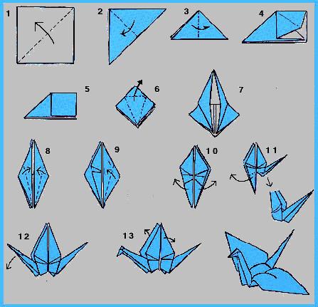 Tutorial origami crane aqu os dejo un tutorial para rea flickr - Origami paper tutorial ...