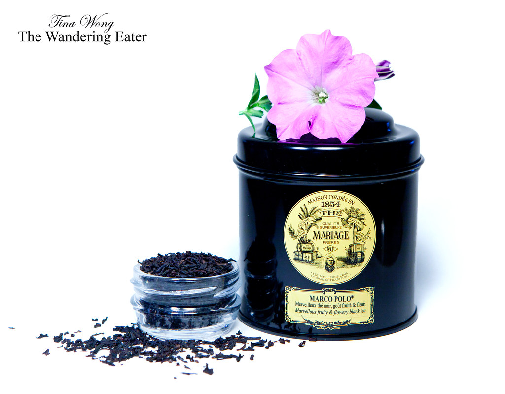 thewanderingeater mariage frres canister of marco polo loose leaf tea by thewanderingeater - Mariage Freres Marco Polo