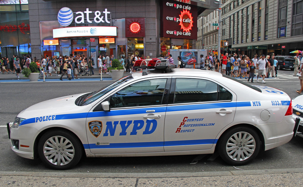 city of new york police department 2010 ford fusion hybr flickr. Black Bedroom Furniture Sets. Home Design Ideas