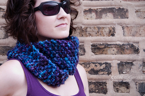 Squish Monster Cowl of Awesomeness | by femme fatale fibers