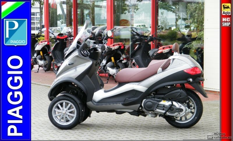 foto nr 4 piaggio mp3 500 lt business 11 roller scooter. Black Bedroom Furniture Sets. Home Design Ideas