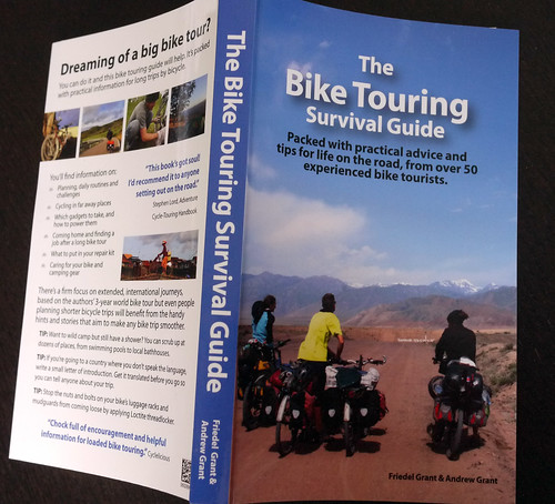 The Bike Touring Survival Guide - Print Copy | by travelling two