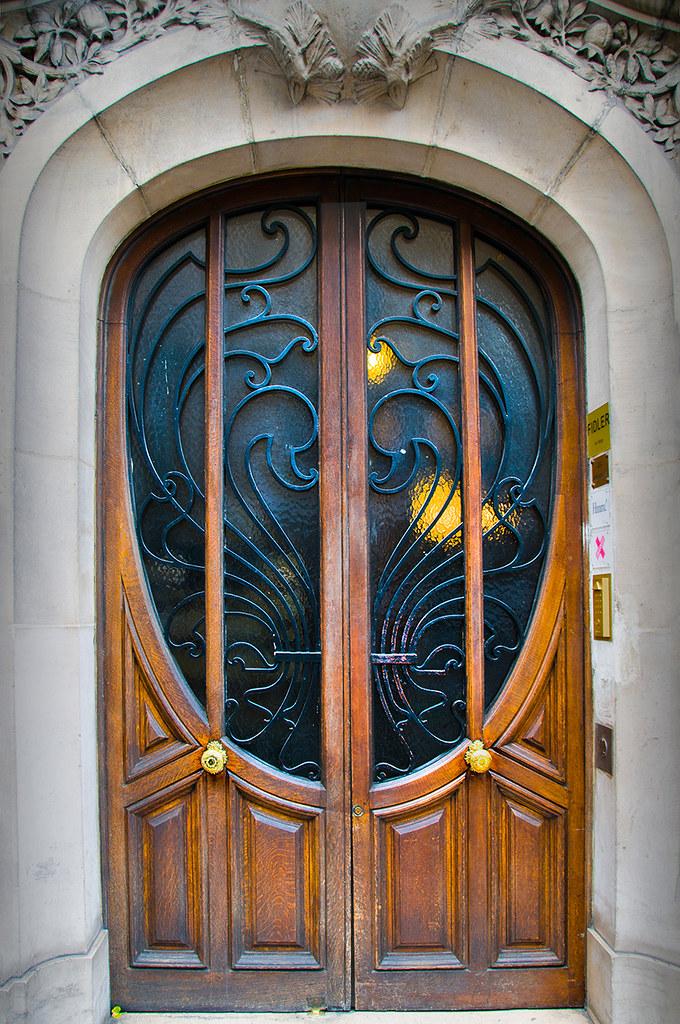 входные двери стиле модерн