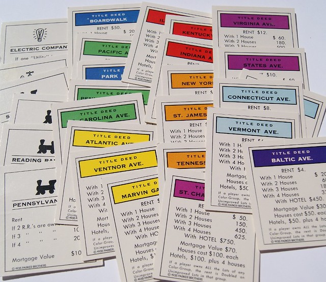 Monopoly property cards flickr photo sharing for Monopoly property cards template
