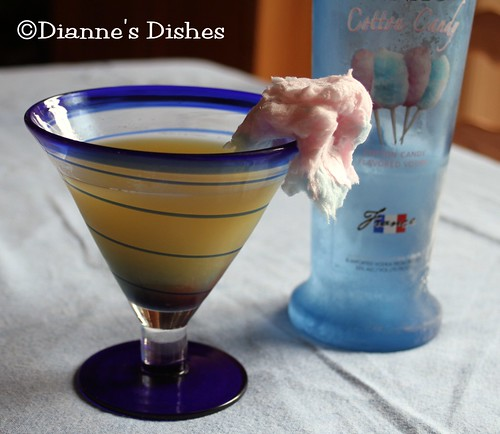 Cotton Candy Martini | by Dianne's Dishes