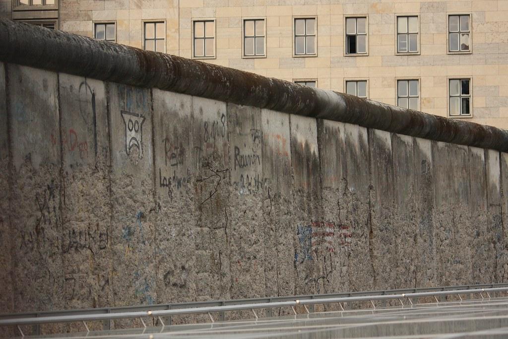 Berlin Wall Tour Map