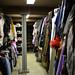 En liten del av klädförrådet