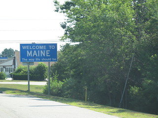 Welcome to Maine | by pdstahl