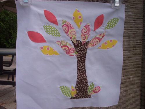 Modern Tree for Kreated by Kari | by Around the Quilt Block