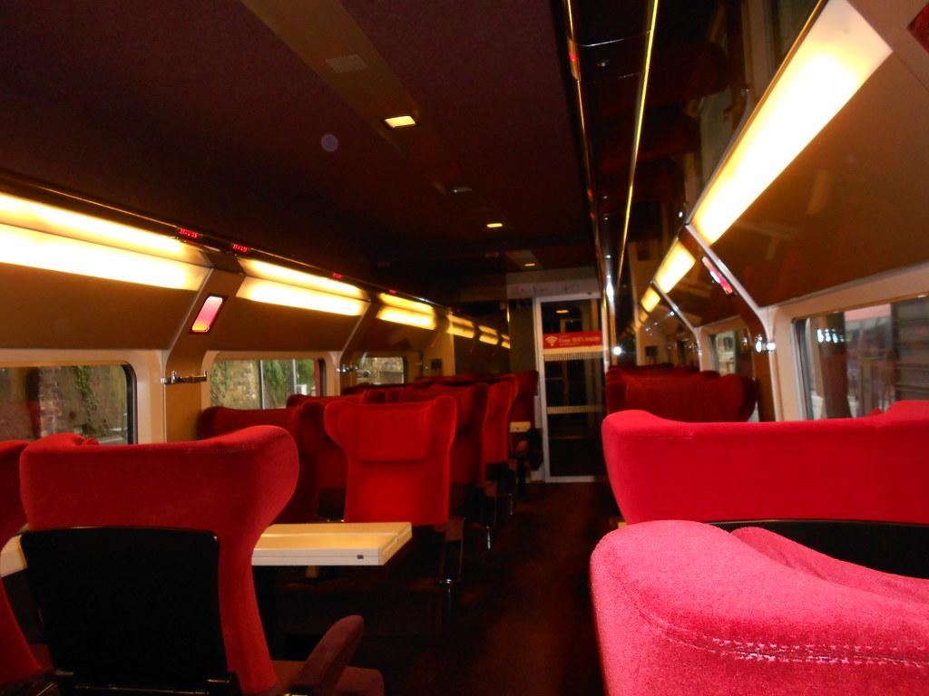 Prague to Paris - Thalys High Speed Train Interior   Flickr