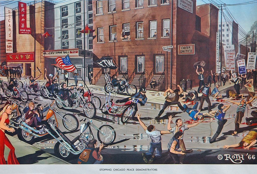 1960s Outlaw Biker Culture  Howard Gribble Flickr