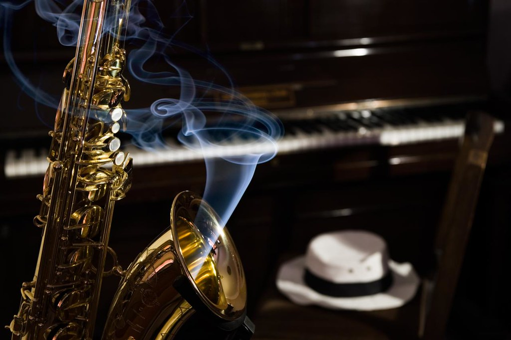 Hot Sax Contrived In My Front Room On A Bright Sunny Day