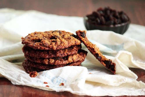 Oatmeal Raisin Crisps | by pastryaffair