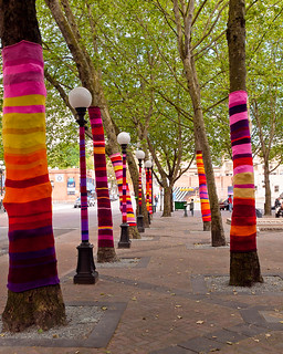 Knitted Trees | by Peter E. Lee