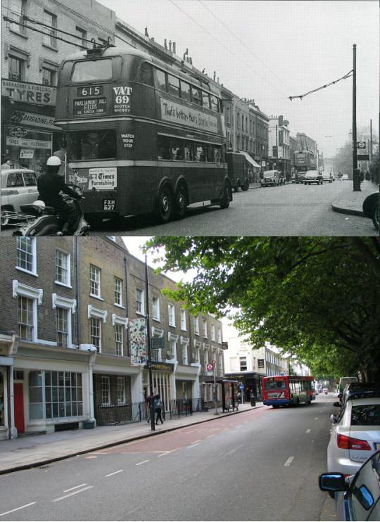 Camden Town: 201-Camden Town Then And Now (15)