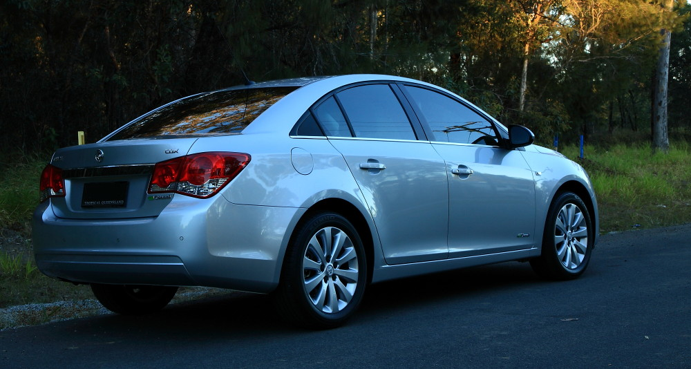 Cruze Rear New Daily Driver Holden Cruze Series 2 Cdx