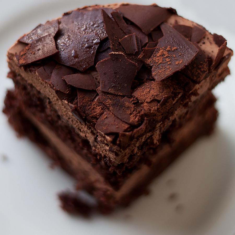 Dark Chocolate Moist Cake Giardellis