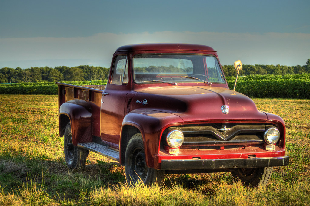 Classic Ford Truck at Sunset and Vine - Long Island Style | Flickr