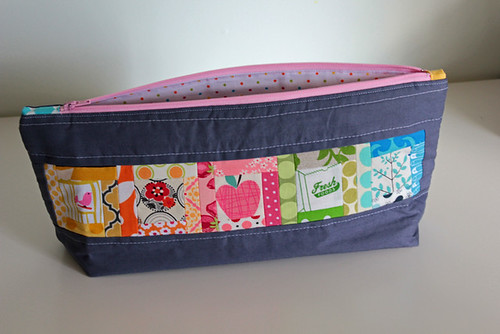 Pretty little pouch swap finished - front | by Flutter Kat