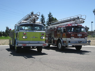 Livermore Quint 53 and Manteca Truck 9 | by Fire Trucks 4 Hire