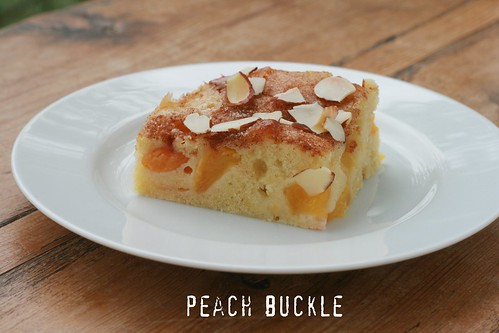Peach Buckle | by Food Librarian
