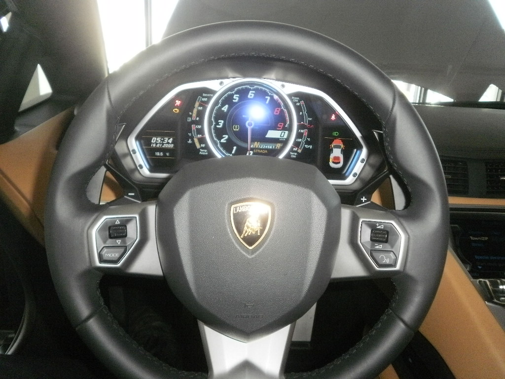 Lamborghini Aventador Steering Wheel Stuie8 Flickr