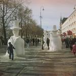 Snøskulpturer