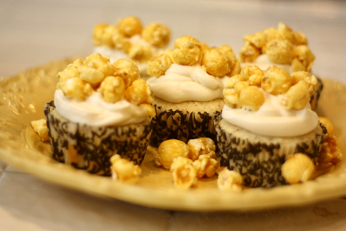 Caramel Corn Cupcakes! | by leesy l