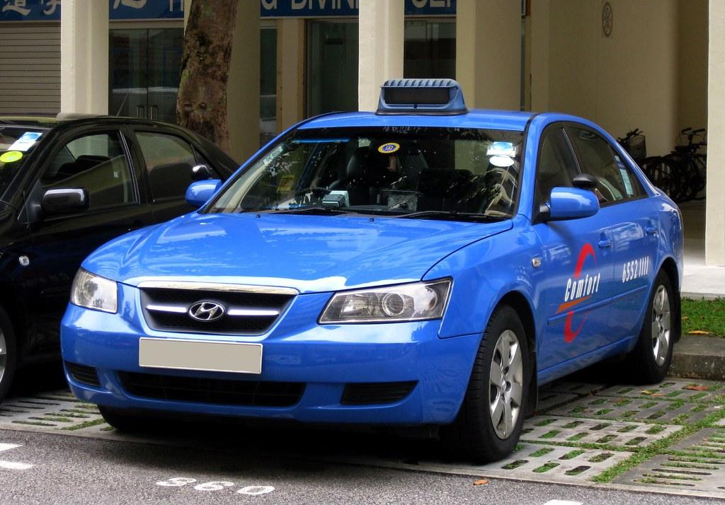 Comfort Hyundai Sonata Taxi Nighteye Flickr