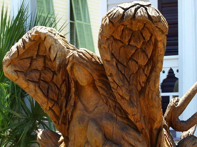 Sister angel galveston tree sculpture flickr photo
