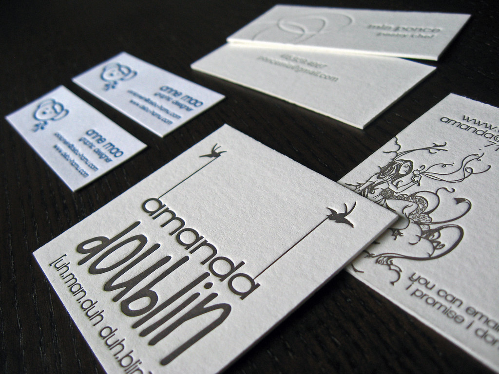 square letterpress business cards  read more about how to c…  flickr