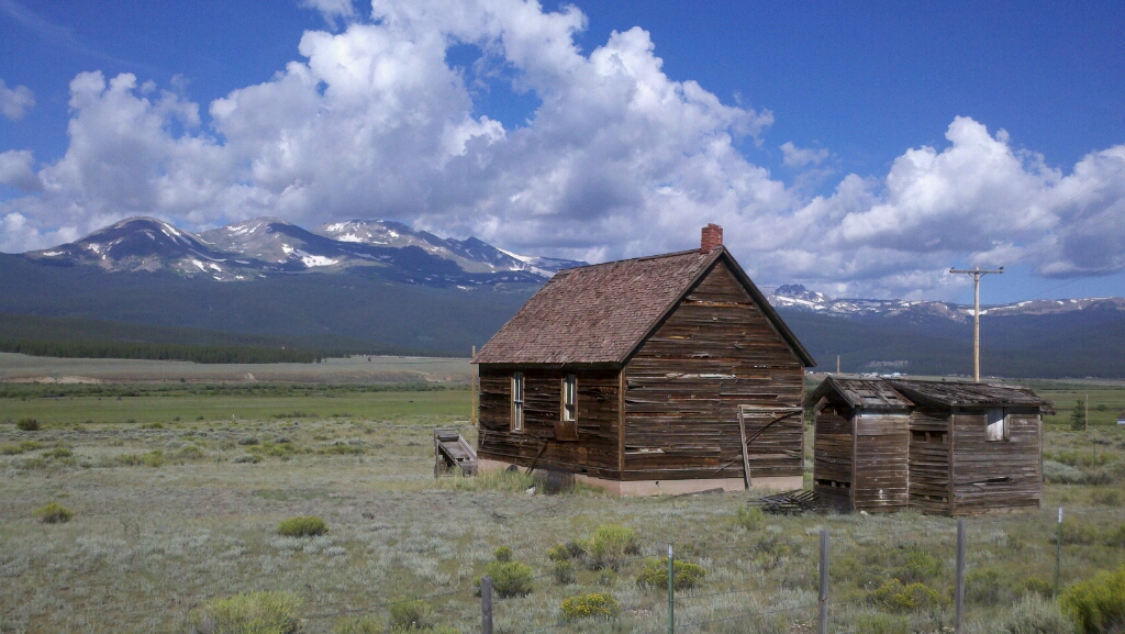 Leadville Colorado This Lonely Cabin Is Just South Of