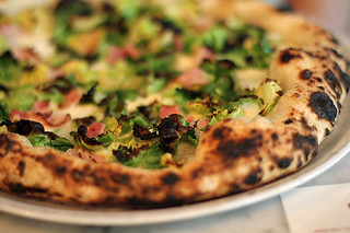 brussels sprouts pizza motorino | by David Lebovitz