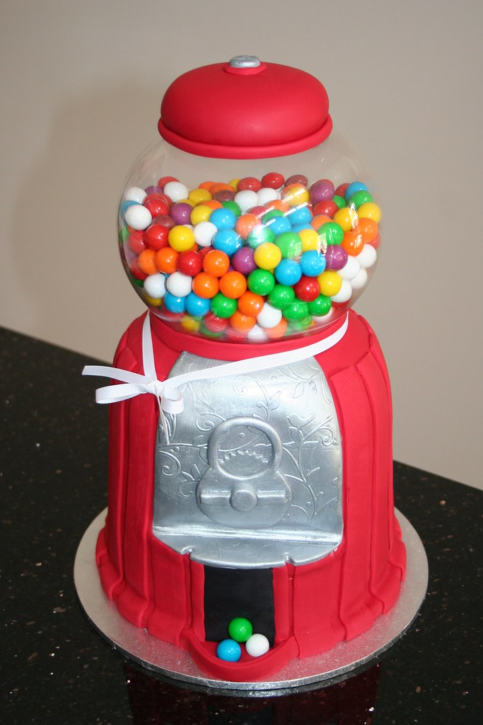 Gumball Machine Cake | I made this cake for my Nanna's ...