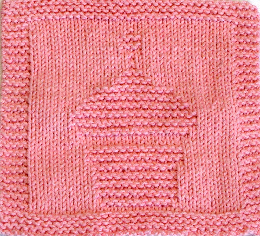 Knitting Stitches To Cm : Knitting Cloth Pattern - Birthday Cupcake - PDF Pattern in? Flickr