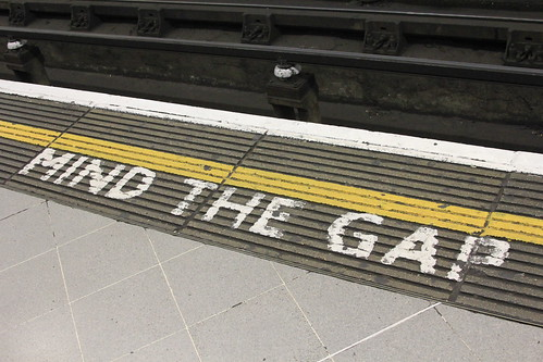 Mind the gap | by AMGPG
