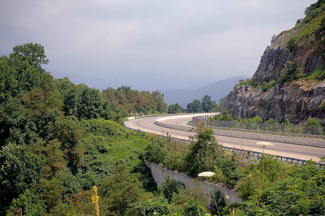 I-26 east of Johnson City