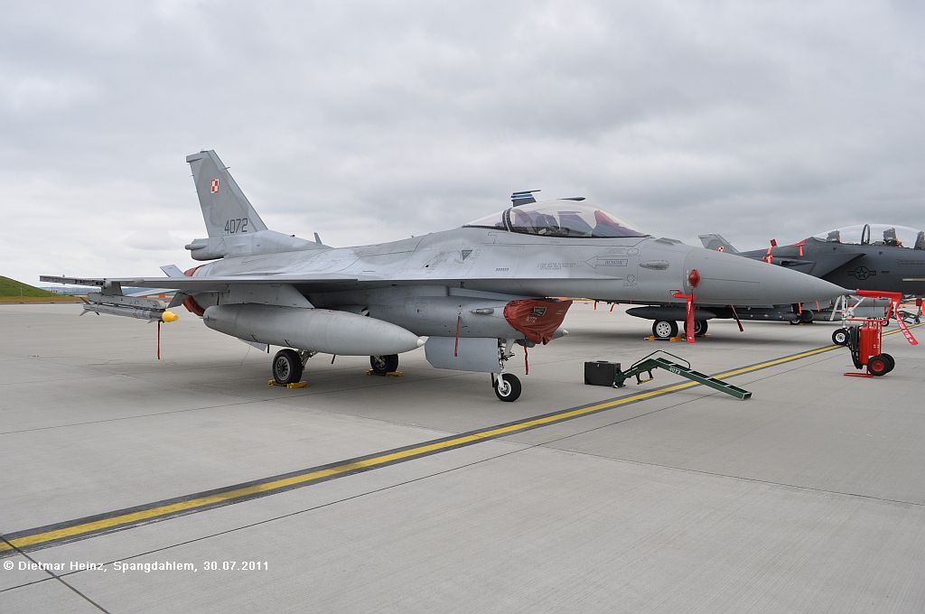 4072 F-16CJ Poland Airforce