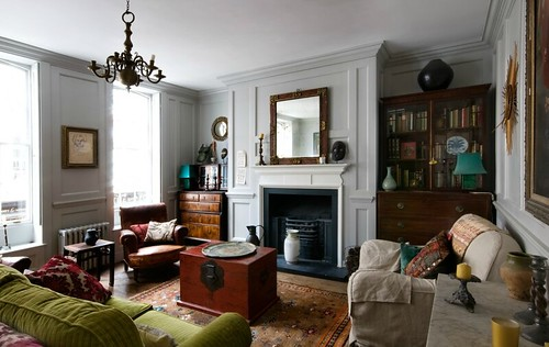 Chris dyson architects eclectic traditional modern living for Traditional eclectic living rooms